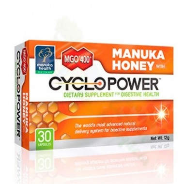 MGO 400 MANUKA HONEY CYCLOPOWER CAPS 30