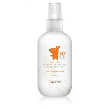 BABE PED FOTOPROTECTOR 50+ SPRAY