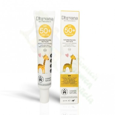 DHYVANA ECO PEDIATRICS PROTECCION SOLAR SPF 50 50 ML